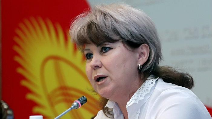 Депутат Ирина Карамушкина.