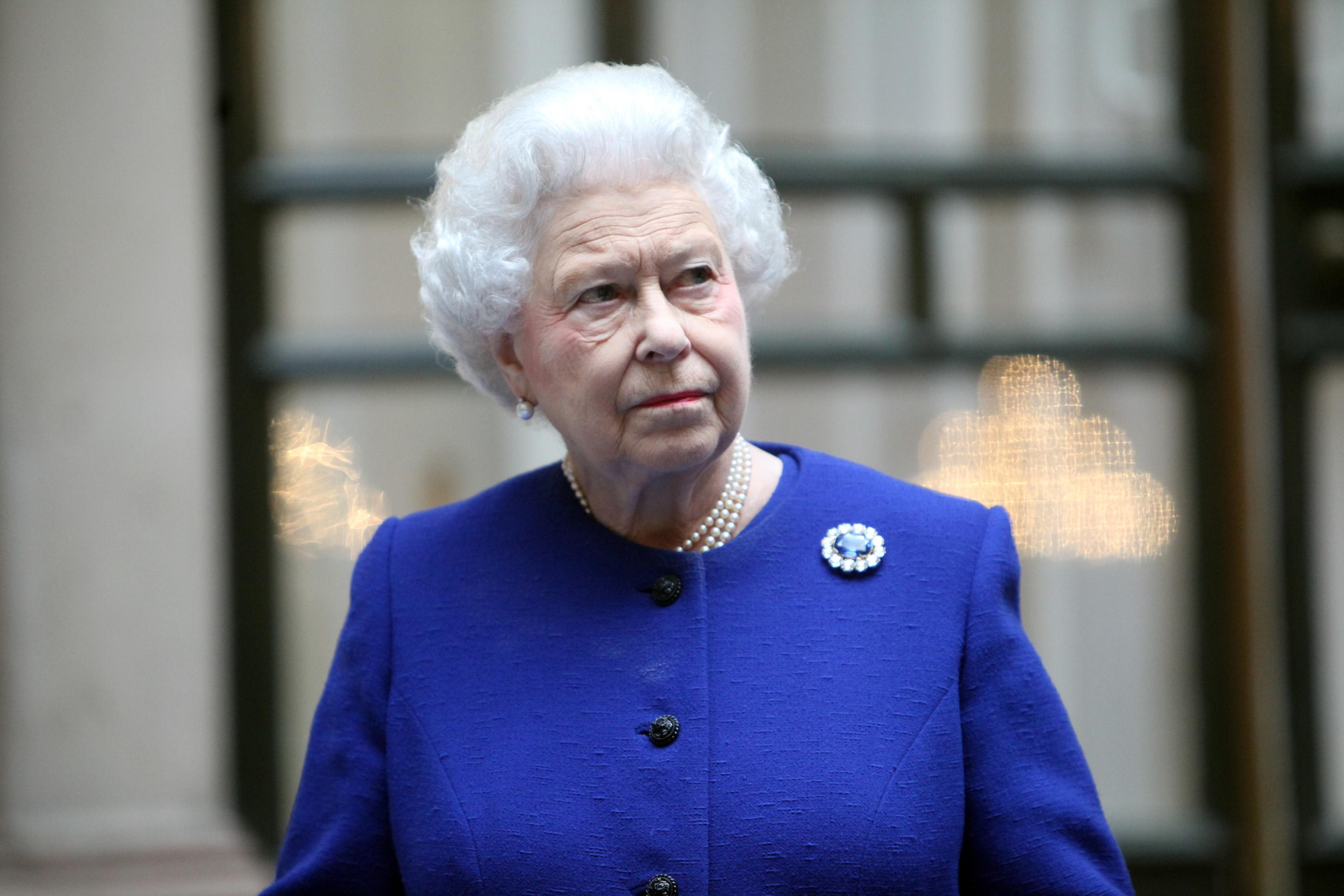 Королева Елизавета II, 2012 год.