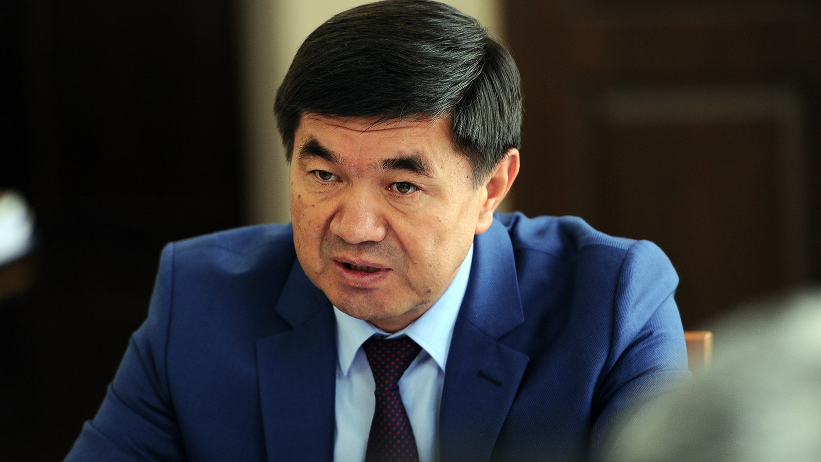 Мухамметкалый Абулгазиев. Фото: www.gov.kg