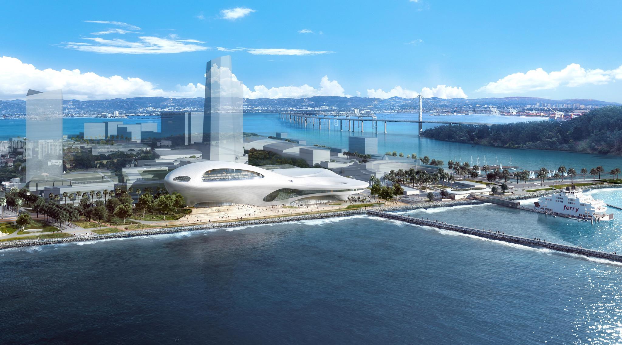 Проект музея для города Сан-Франциско.