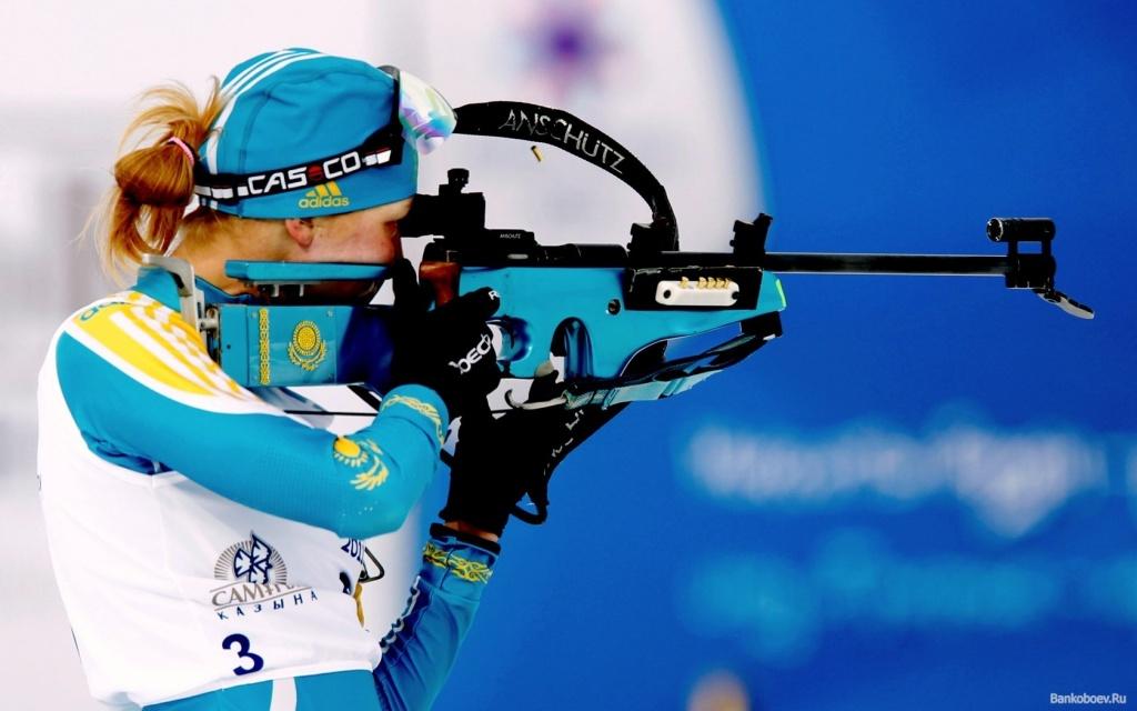 Биатлонистка Алина Райкова