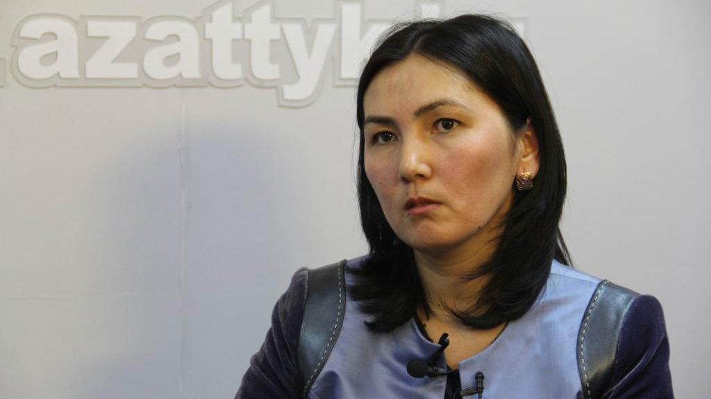 Аида Салянова. Фото: Мирлан Токталиев.