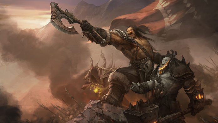 World of Warcraft, fanart by Yanmo Zhang