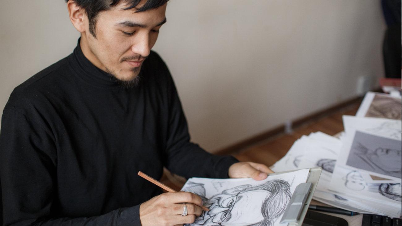 От исторических картин до постапокалиптического Бишкека: Концепт-арты Данияра Жолдошбекова