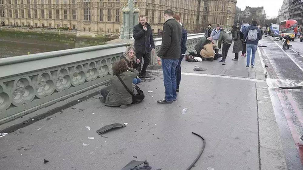 Лондон Полиция установила личность совершившего теракт у здания парламента                    От Александра Титова