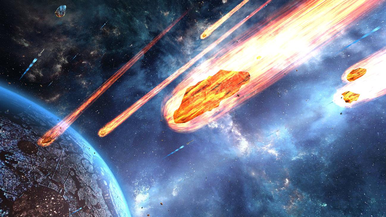 Земле угрожает огромный астероид, который может уничтожить все человечество. Но, разумеется, есть команда героев, которые даже не космонавты...