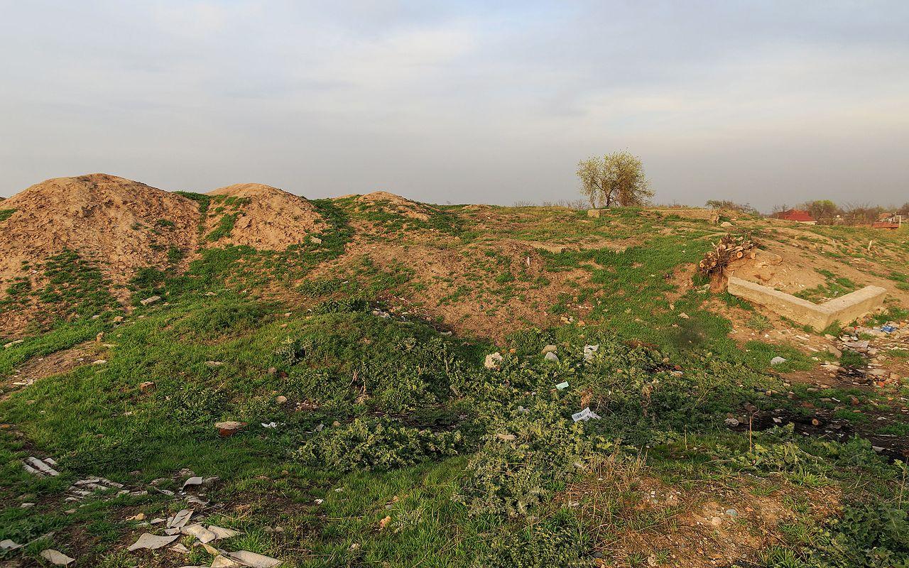 Какое древнее городище располагалось на территории Бишкека?