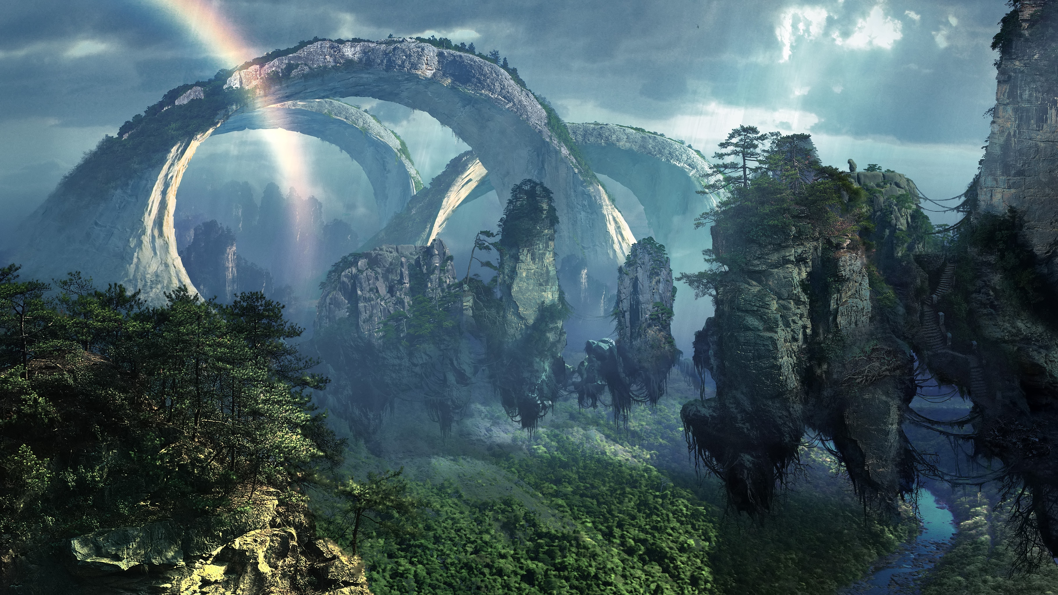 Люди высаживаются на чужую планету и начинают уничтожать ее ради полезных ископаемых. С этим несогласны инопланетные аборигены и сочувствующие им земляне. Да грядет борьба!