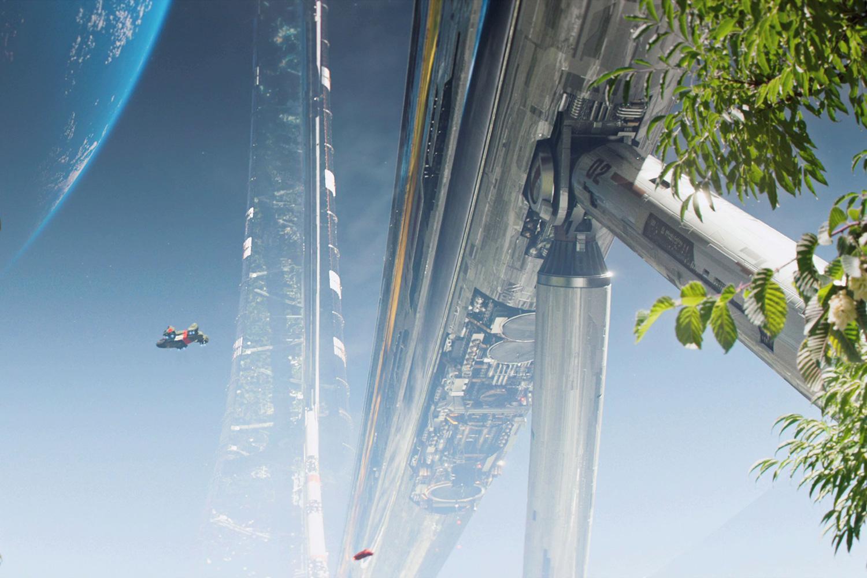 Жизнь на земле стала невыносимой, поэтому богатые земляне переселились на космическую станцию. Но вот те, что остались на земле, вынуждены выживать и бороться.
