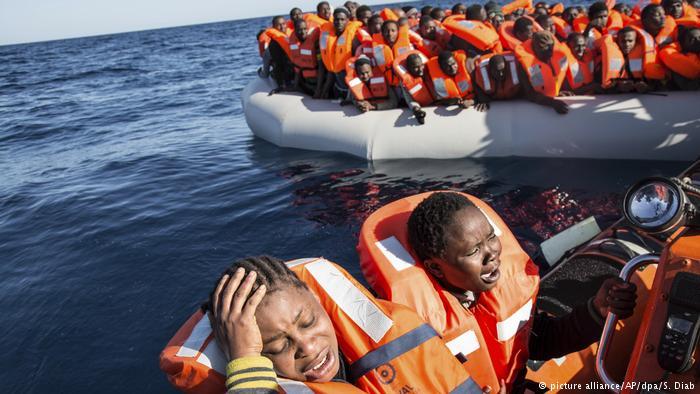 Европа посчитала прибывших в минувшем 2017 беженцев