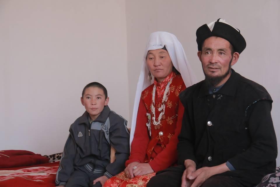 Семья Сайдирахмана