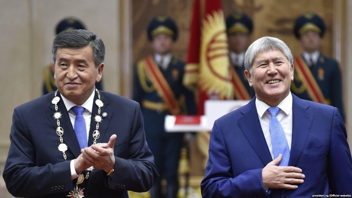 "Image result for Сооронбай Жээнбеков и Алмазбек Атамбаєв"""