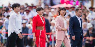 Олимпийцы Кыргызстана на День независимости