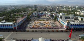 Бишкек, площадь Ала-тоо